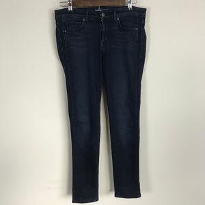 Rich & Skinny Dark Wash Skinny Jeans Zipper Pocket
